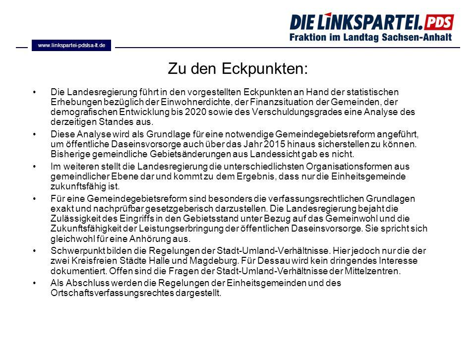 www.linkspartei-pdslsa-lt.de Zu den Eckpunkten: