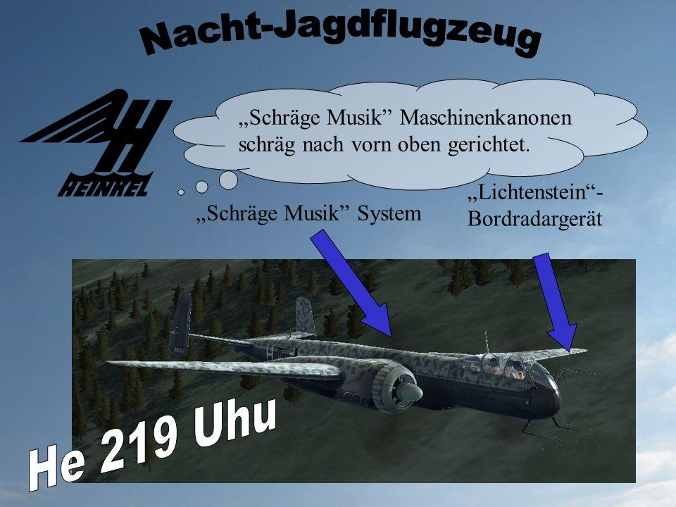Nacht-Jagdflugzeug He 219 Uhu