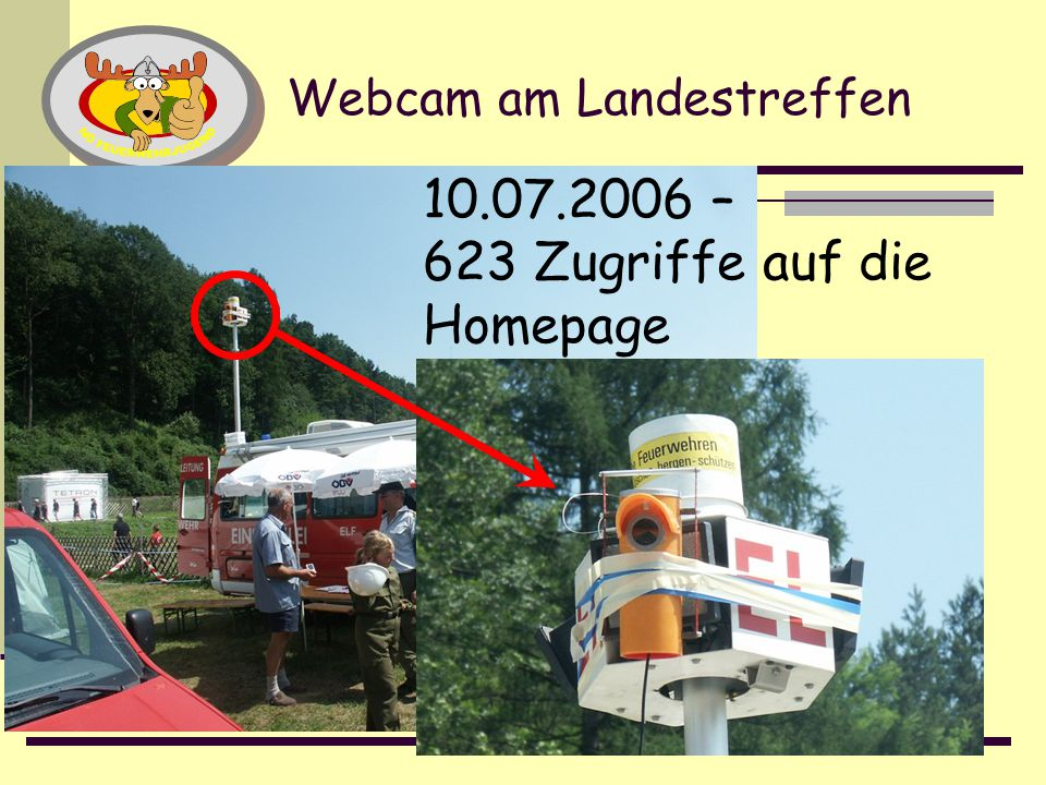 Webcam am Landestreffen
