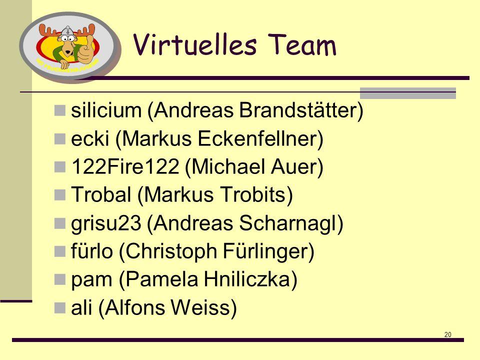 Virtuelles Team silicium (Andreas Brandstätter)
