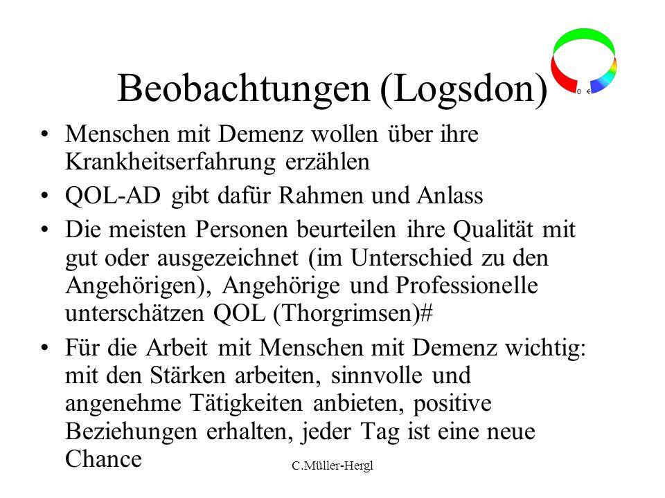 Beobachtungen (Logsdon)