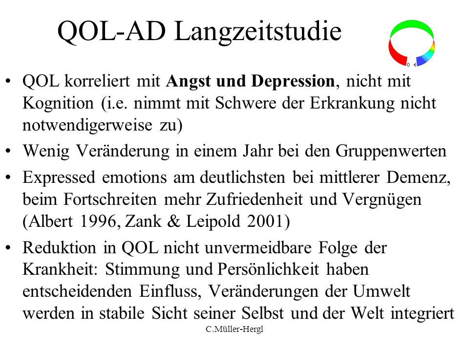 QOL-AD Langzeitstudie