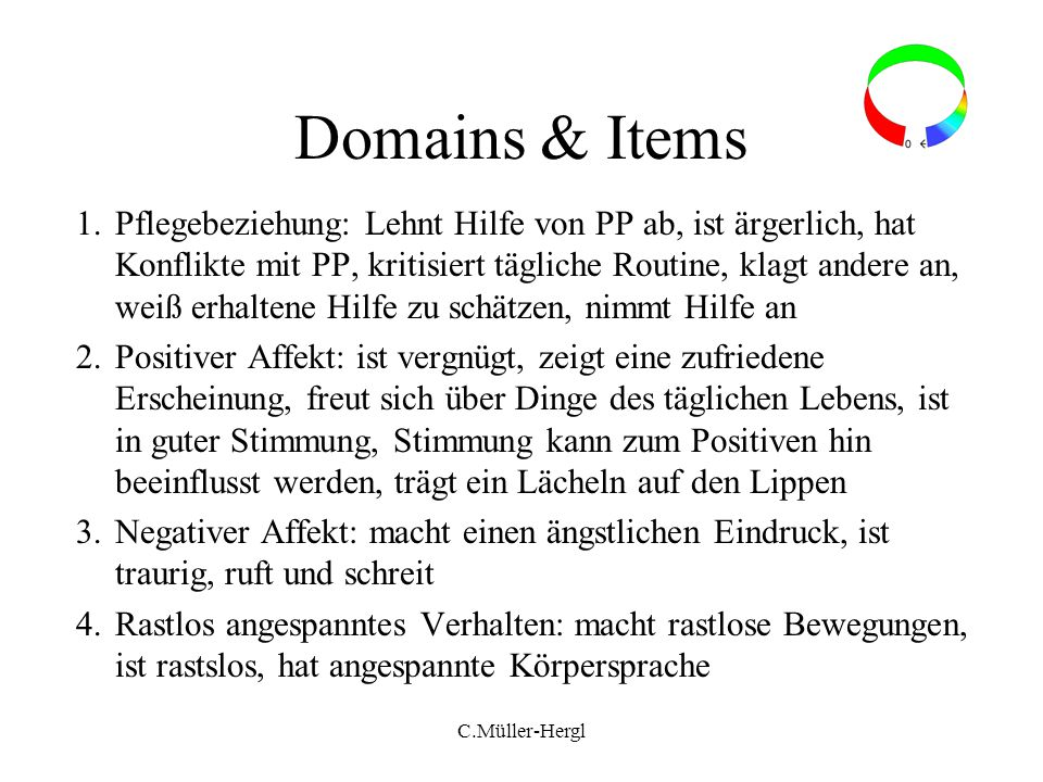 Domains & Items