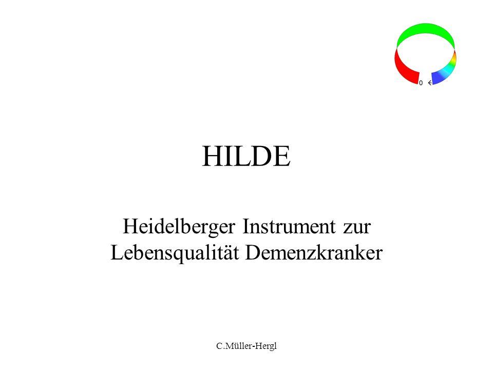 Heidelberger Instrument zur Lebensqualität Demenzkranker