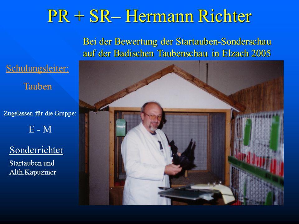 PR + SR– Hermann Richter