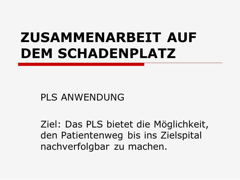 ZUSAMMENARBEIT AUF DEM SCHADENPLATZ