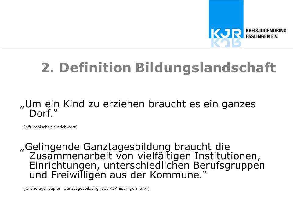 2. Definition Bildungslandschaft