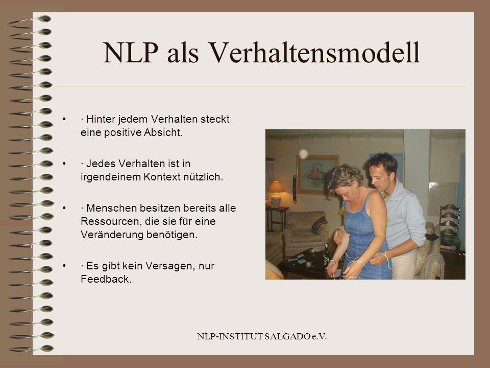 NLP als Verhaltensmodell