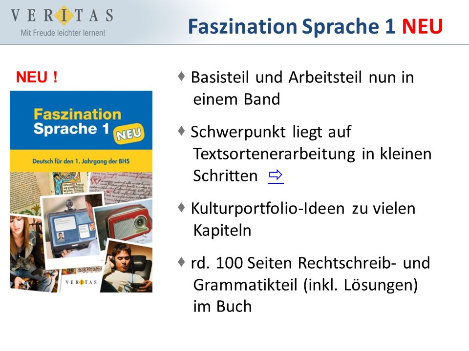 Faszination Sprache 1 NEU