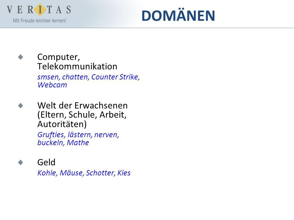DOMÄNEN Computer, Telekommunikation
