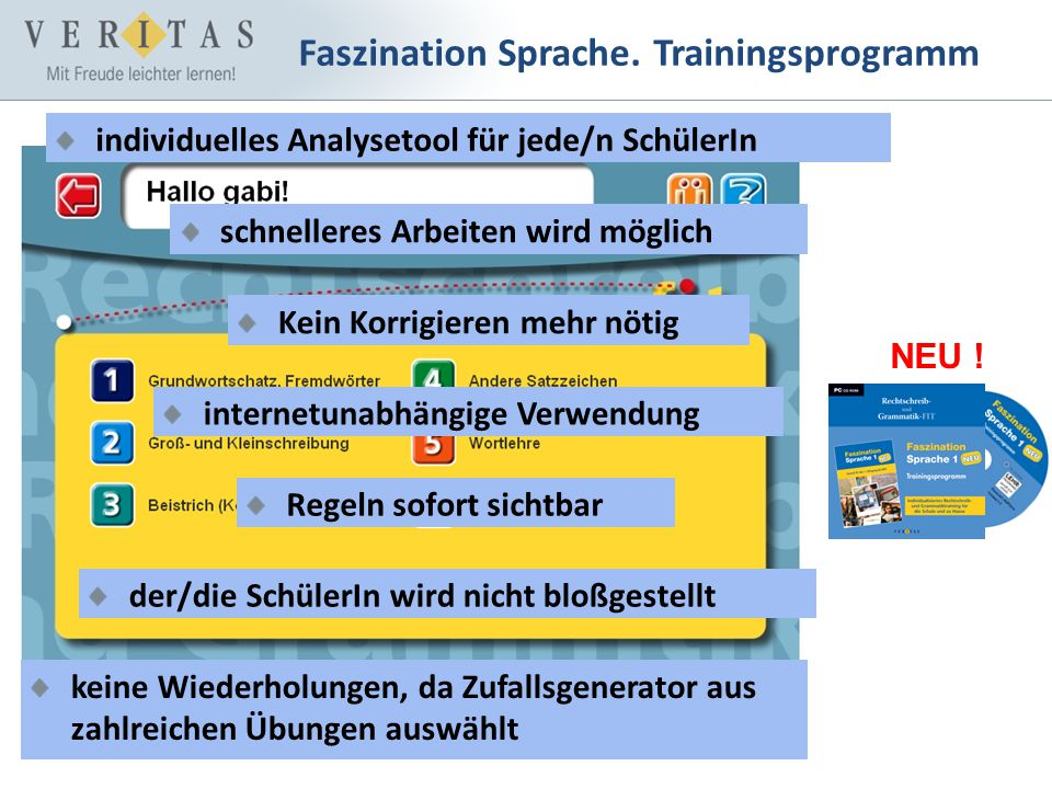 Faszination Sprache. Trainingsprogramm