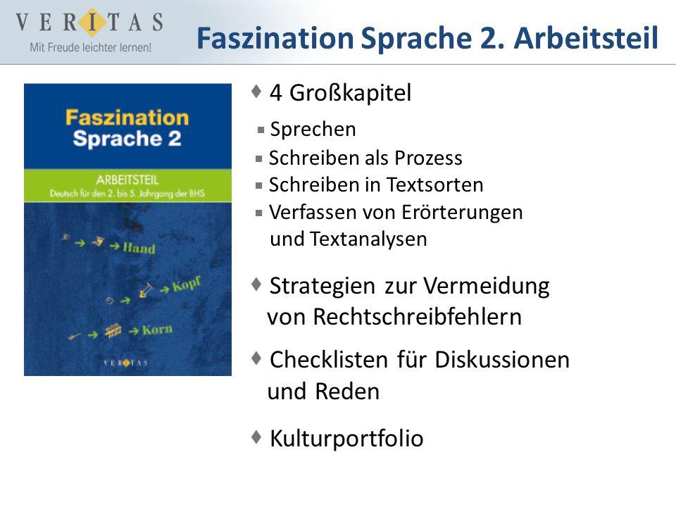 Faszination Sprache 2. Arbeitsteil