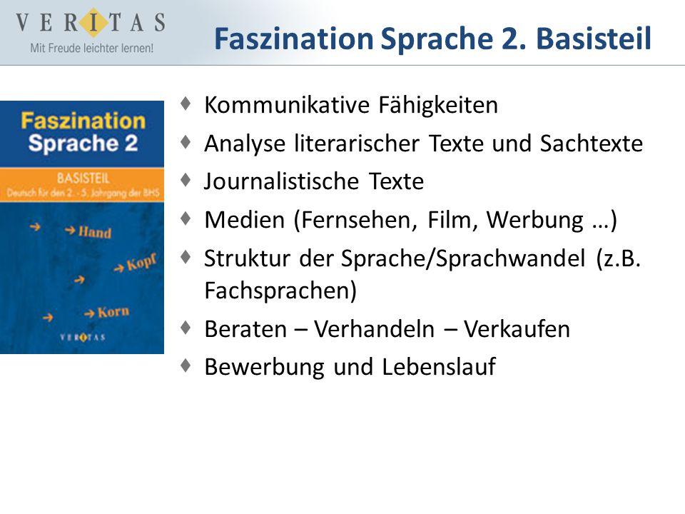 Faszination Sprache 2. Basisteil