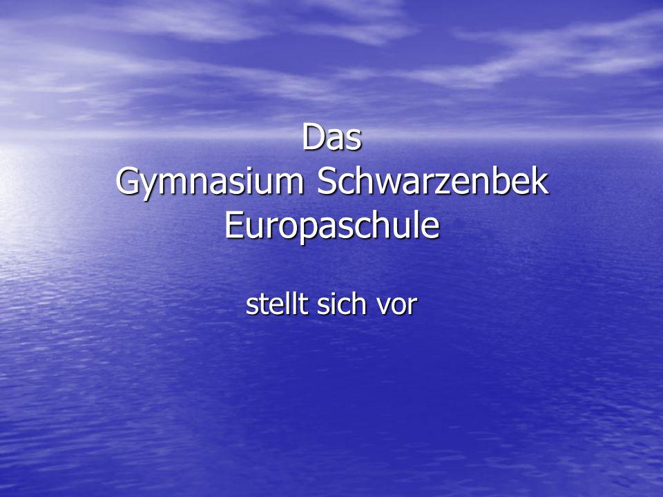 Das Gymnasium Schwarzenbek Europaschule
