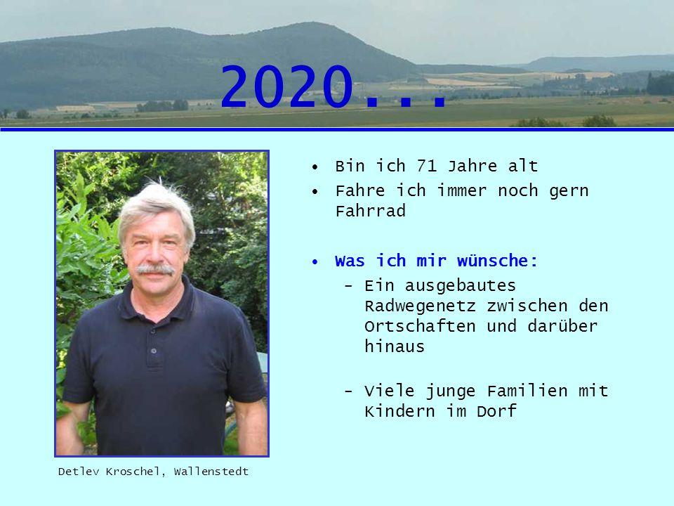 2020... Bin ich 71 Jahre alt Fahre ich immer noch gern Fahrrad