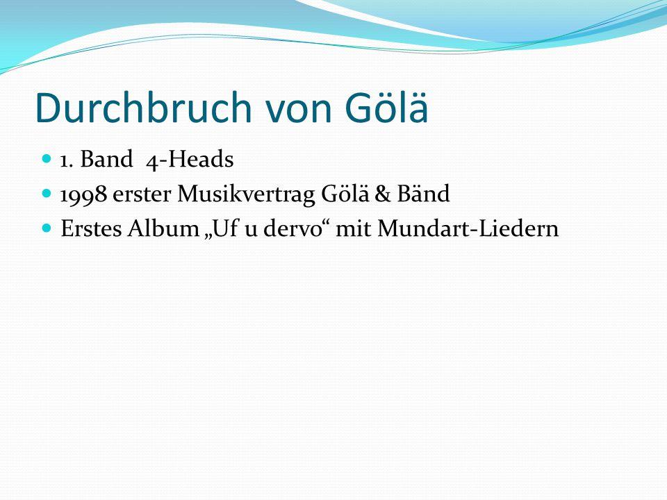 Durchbruch von Gölä 1. Band 4-Heads
