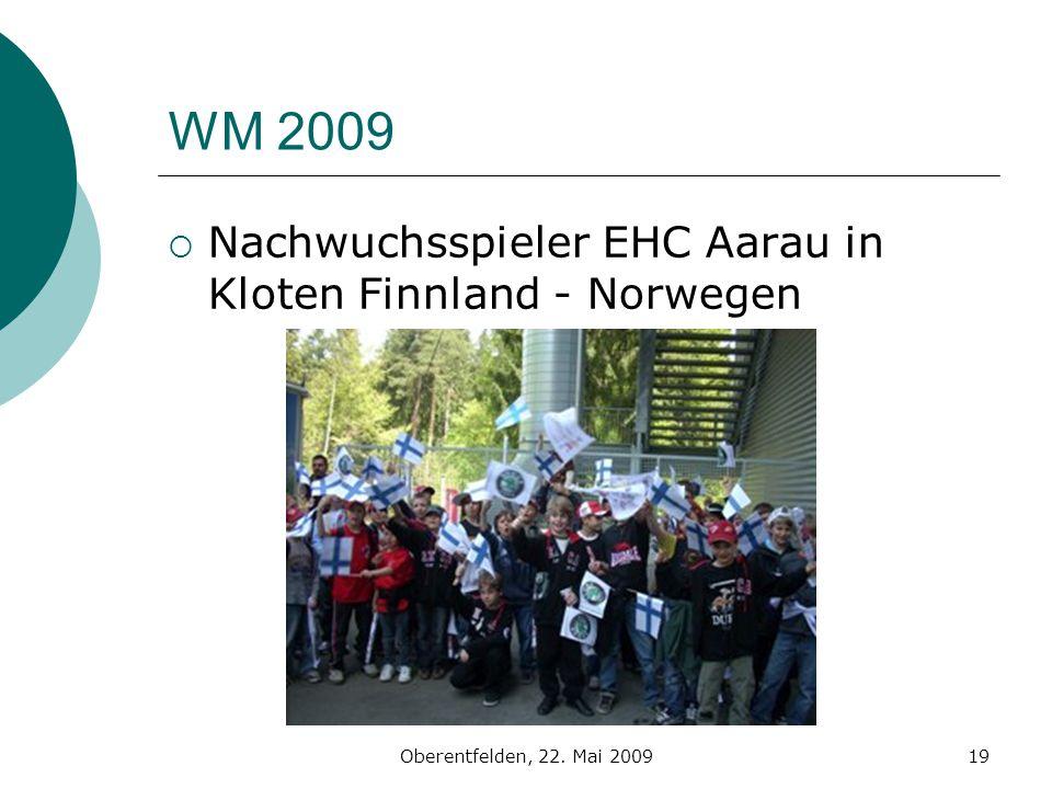 WM 2009 Nachwuchsspieler EHC Aarau in Kloten Finnland - Norwegen