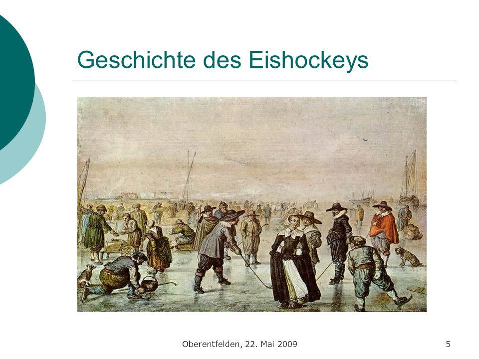 Geschichte des Eishockeys