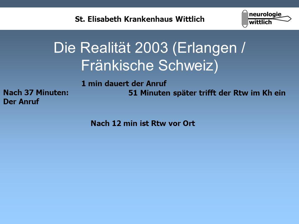 Die Realität 2003 (Erlangen / Fränkische Schweiz)