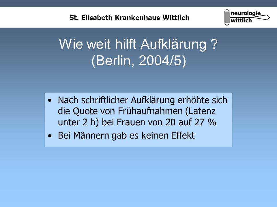 Wie weit hilft Aufklärung (Berlin, 2004/5)