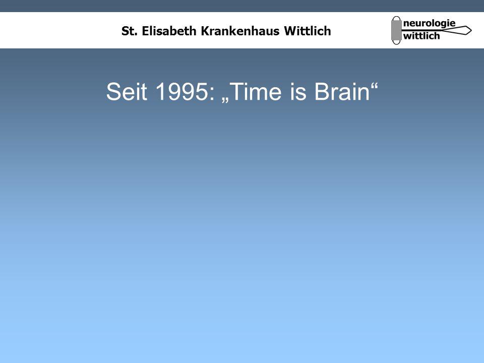 """Seit 1995: """"Time is Brain"""