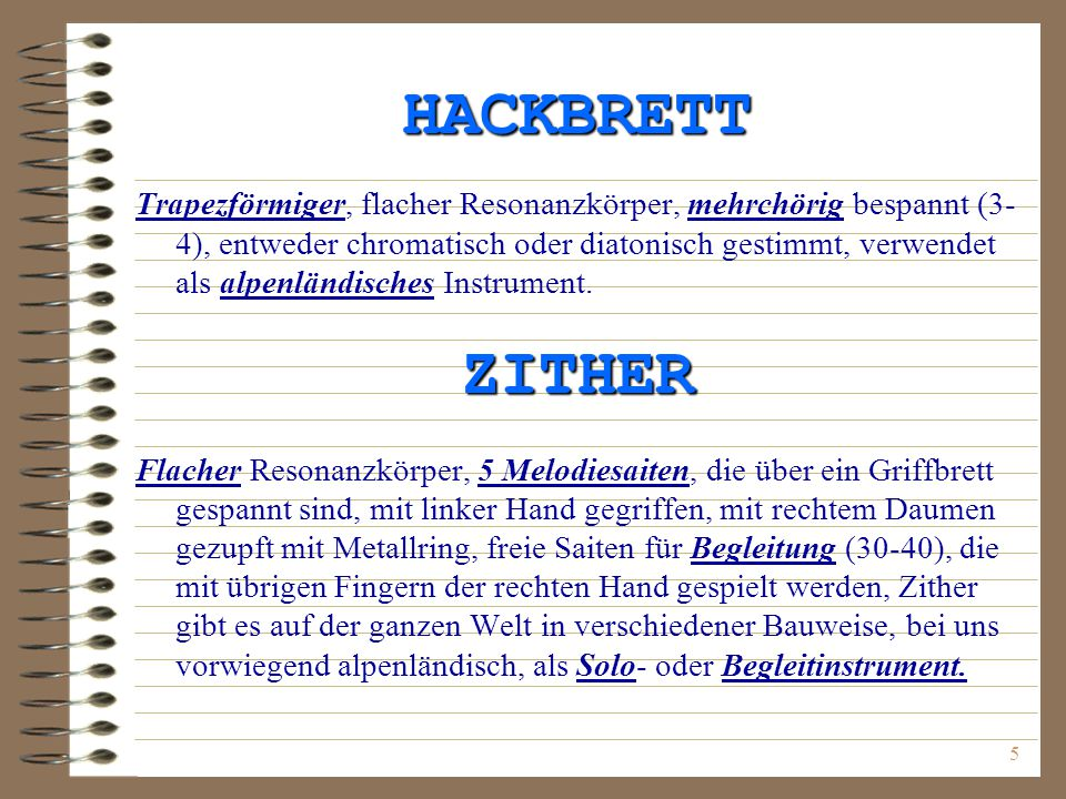 HACKBRETT