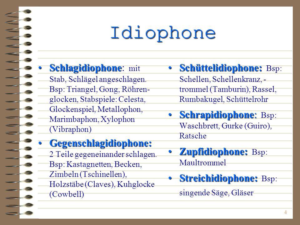 Idiophone