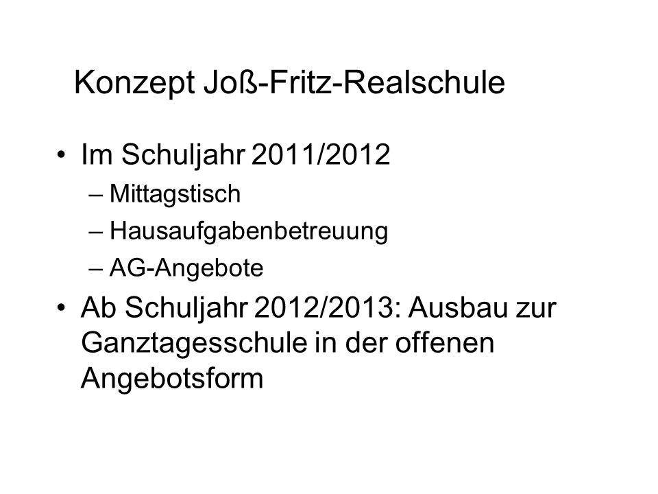 Konzept Joß-Fritz-Realschule