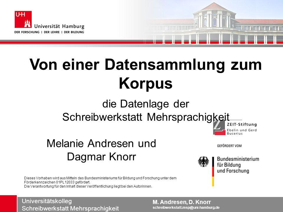 Melanie Andresen und Dagmar Knorr