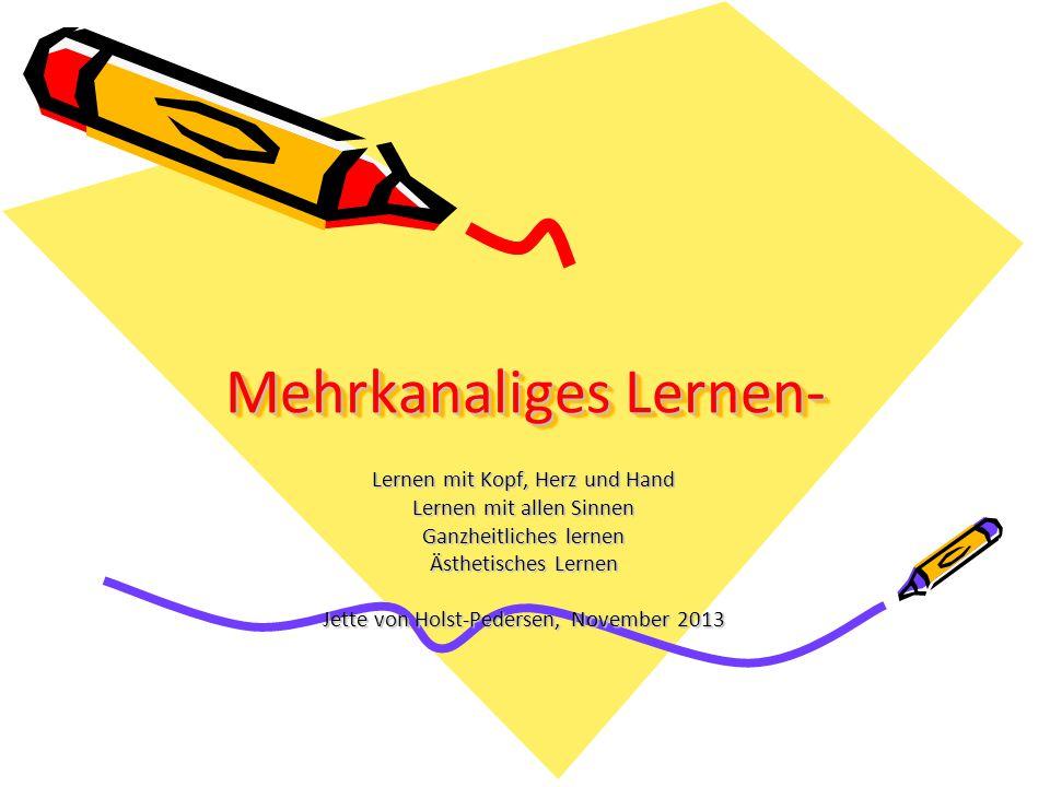 Mehrkanaliges Lernen-