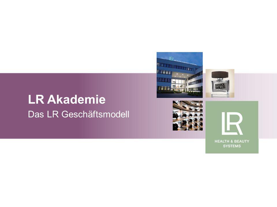 LR Akademie Das LR Geschäftsmodell