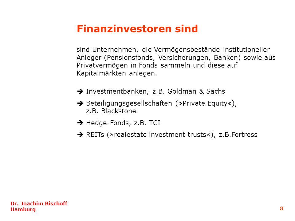 Finanzinvestoren sind