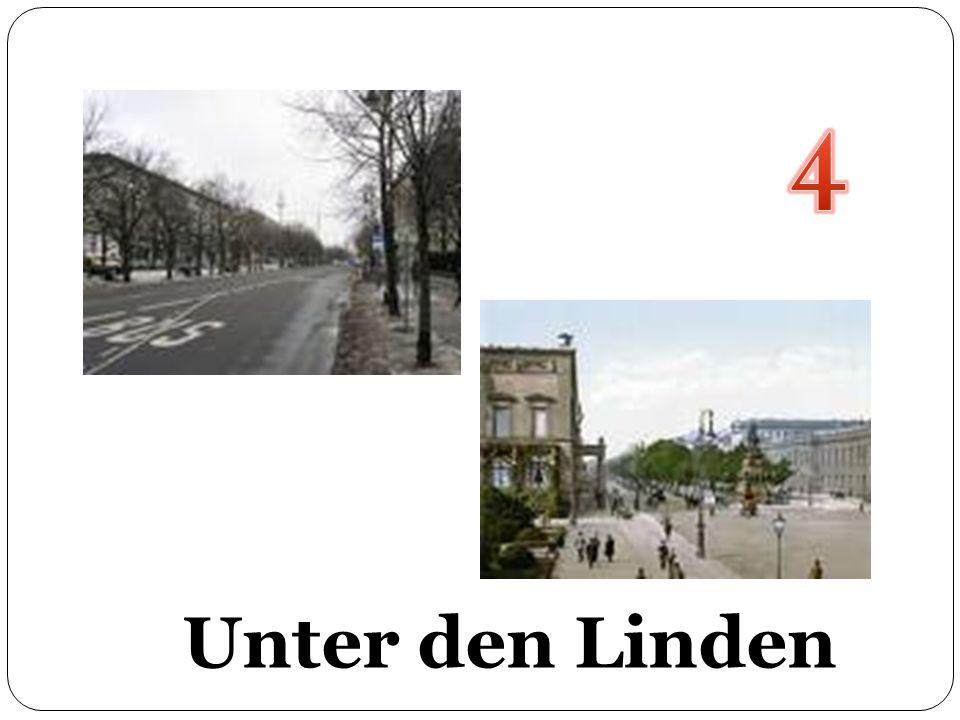 4 Unter den Linden Unter den Linden