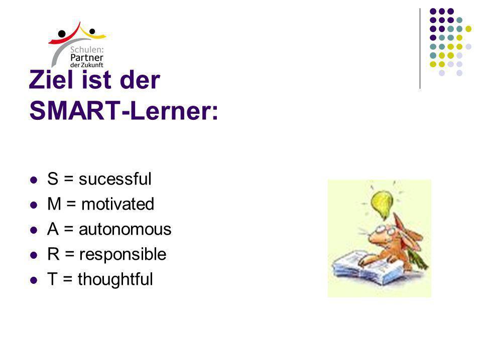 Ziel ist der SMART-Lerner: