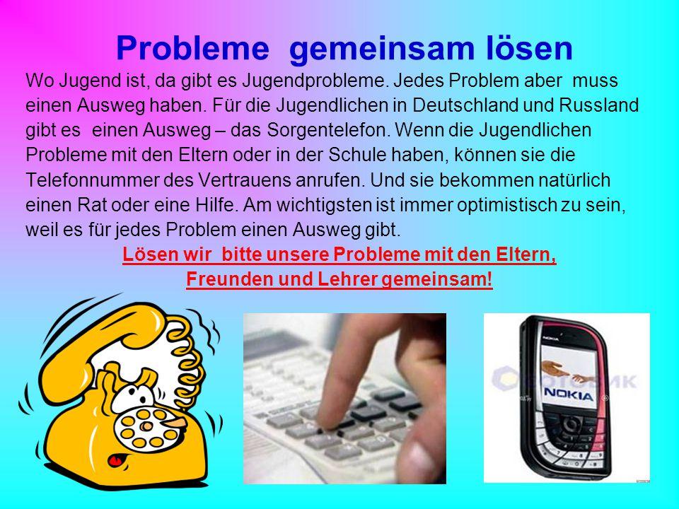 Probleme gemeinsam lösen