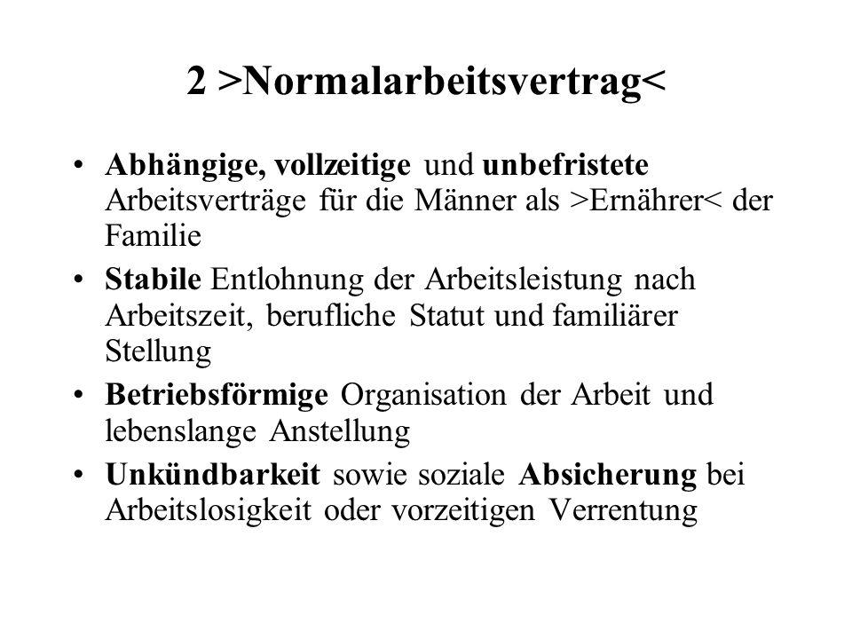 2 >Normalarbeitsvertrag<