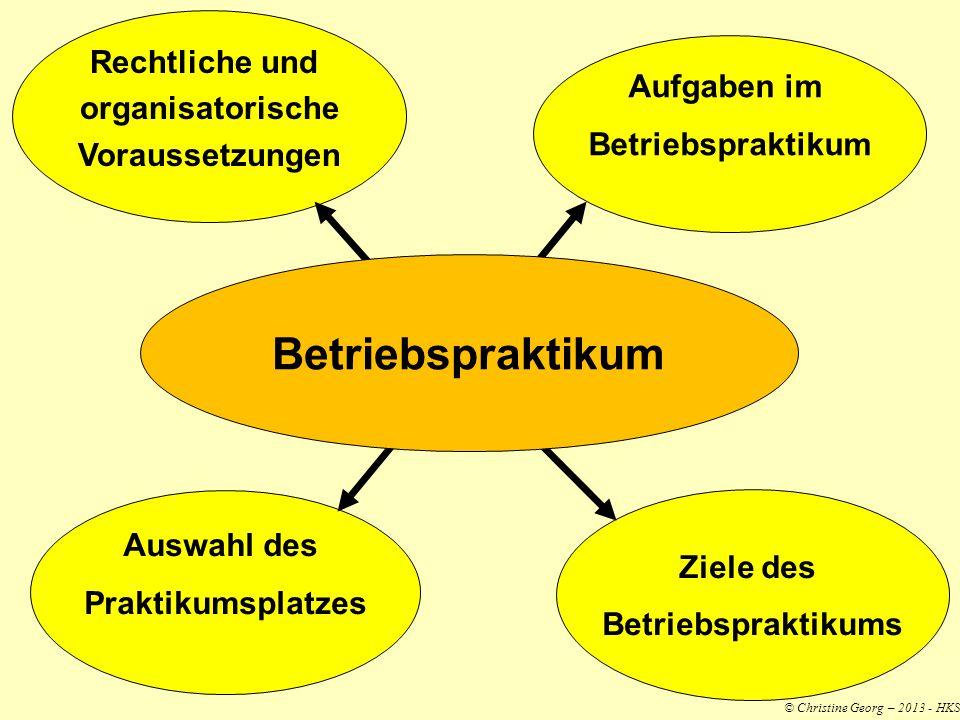 Betriebspraktikum Rechtliche und organisatorische Aufgaben im