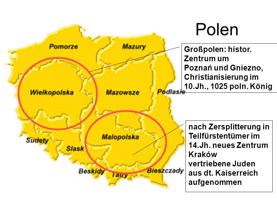 Polen Großpolen: histor. Zentrum um