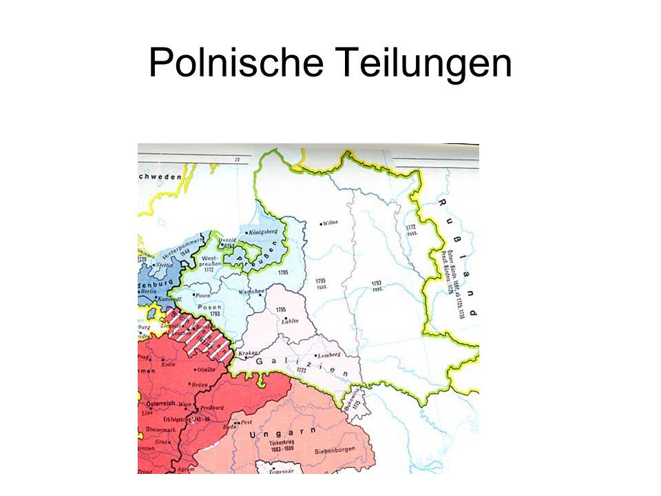 Polnische Teilungen