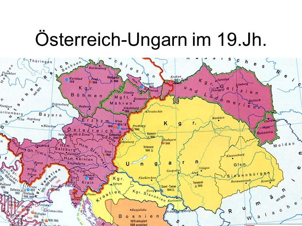 Österreich-Ungarn im 19.Jh.