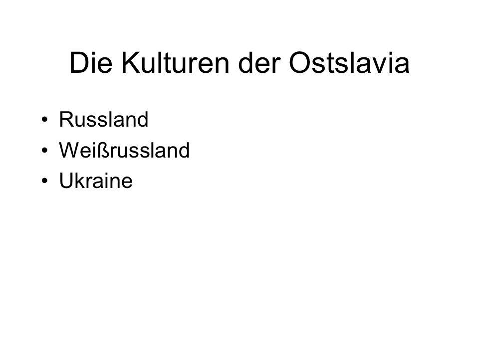 Die Kulturen der Ostslavia