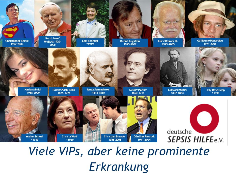 Viele VIPs, aber keine prominente Erkrankung