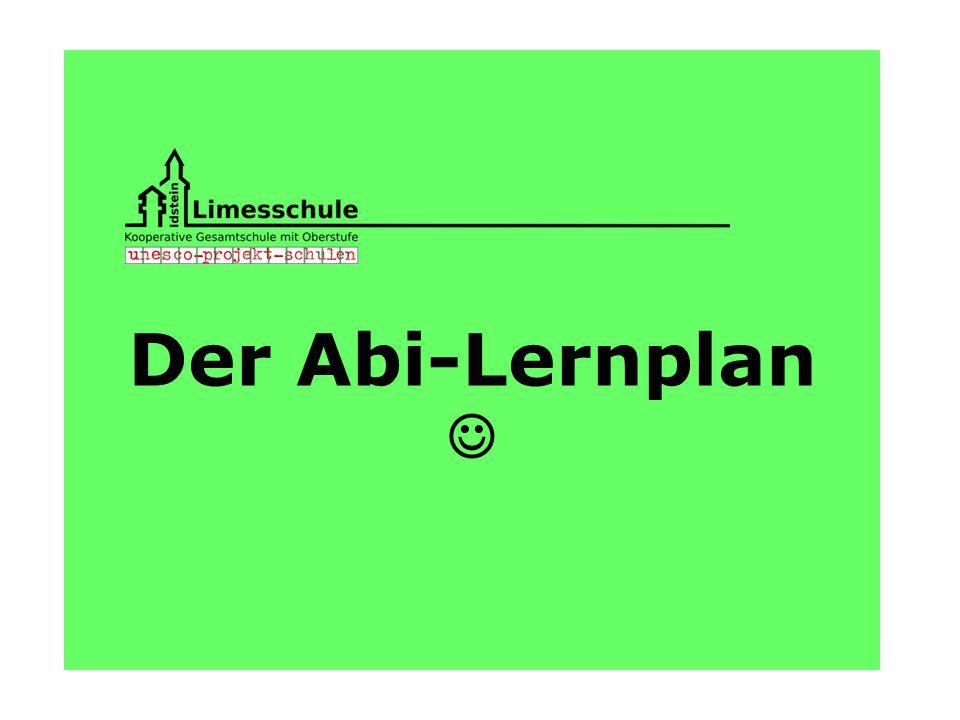 Der Abi-Lernplan 