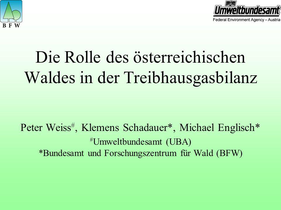 Die Rolle des österreichischen Waldes in der Treibhausgasbilanz