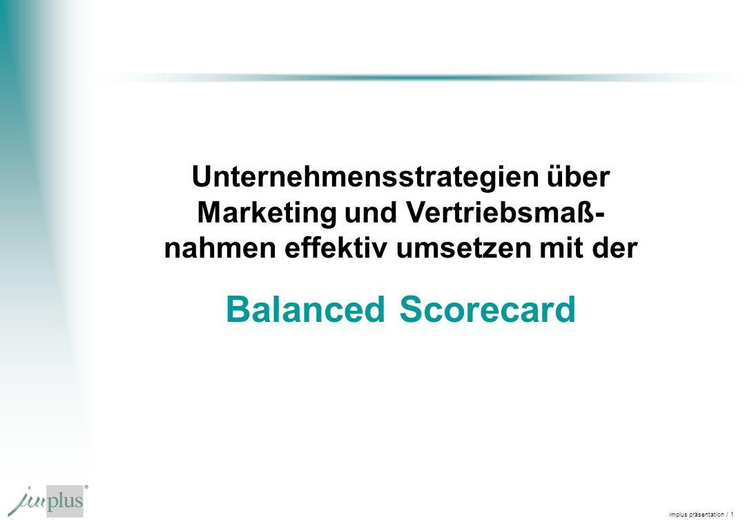Unternehmensstrategien über Marketing und Vertriebsmaß- nahmen effektiv umsetzen mit der
