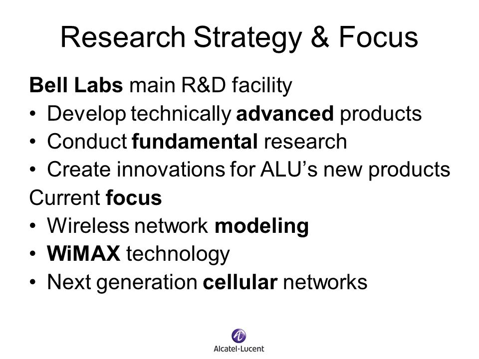 Research Strategy & Focus