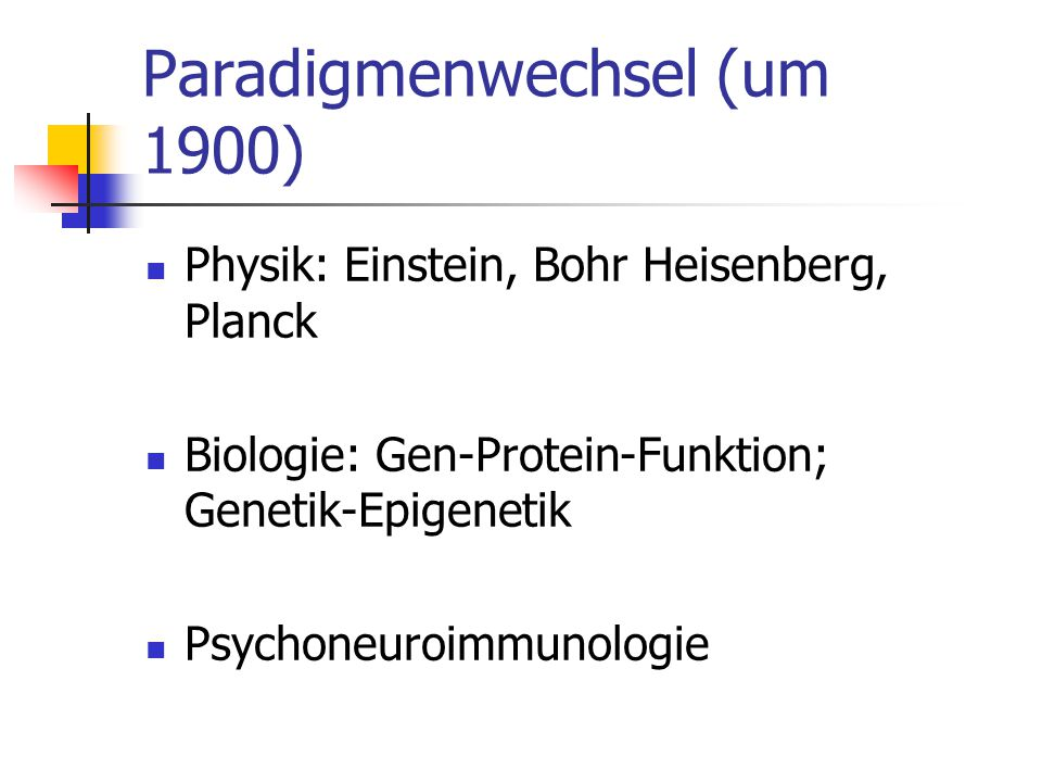 Paradigmenwechsel (um 1900)