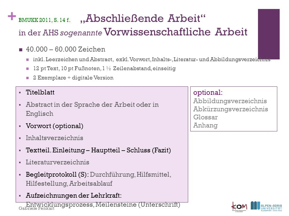 40.000 – 60.000 Zeichen optional: Titelblatt