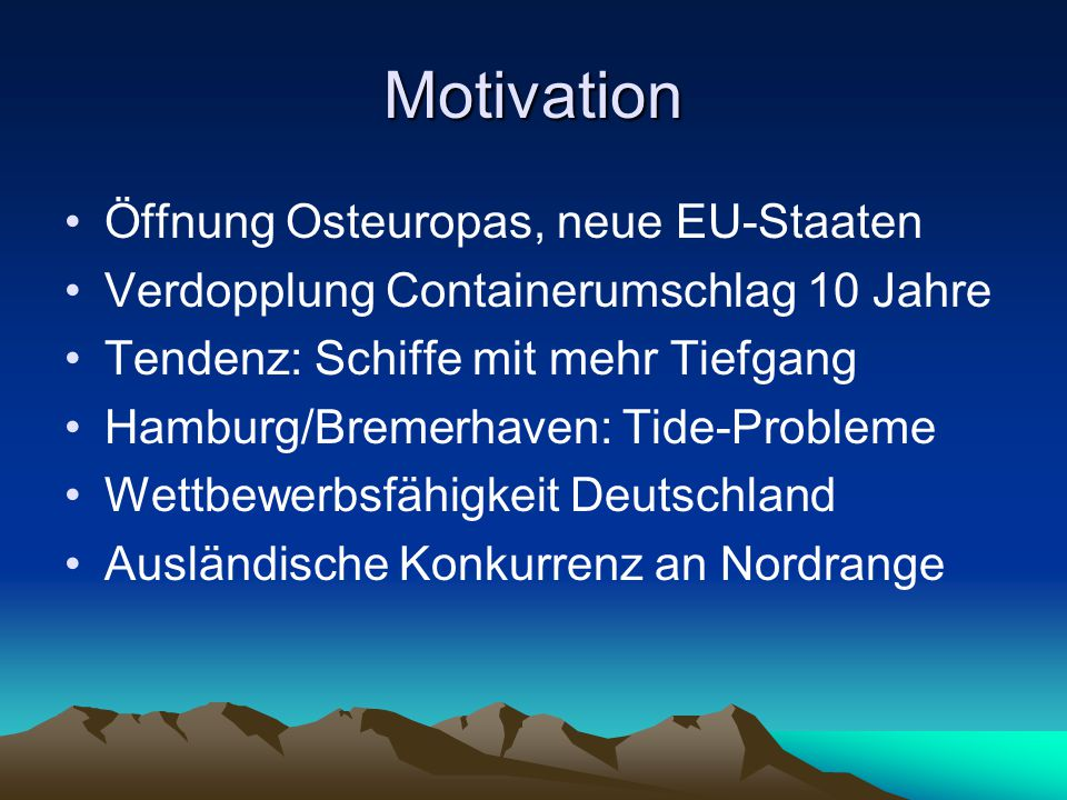 Motivation Öffnung Osteuropas, neue EU-Staaten