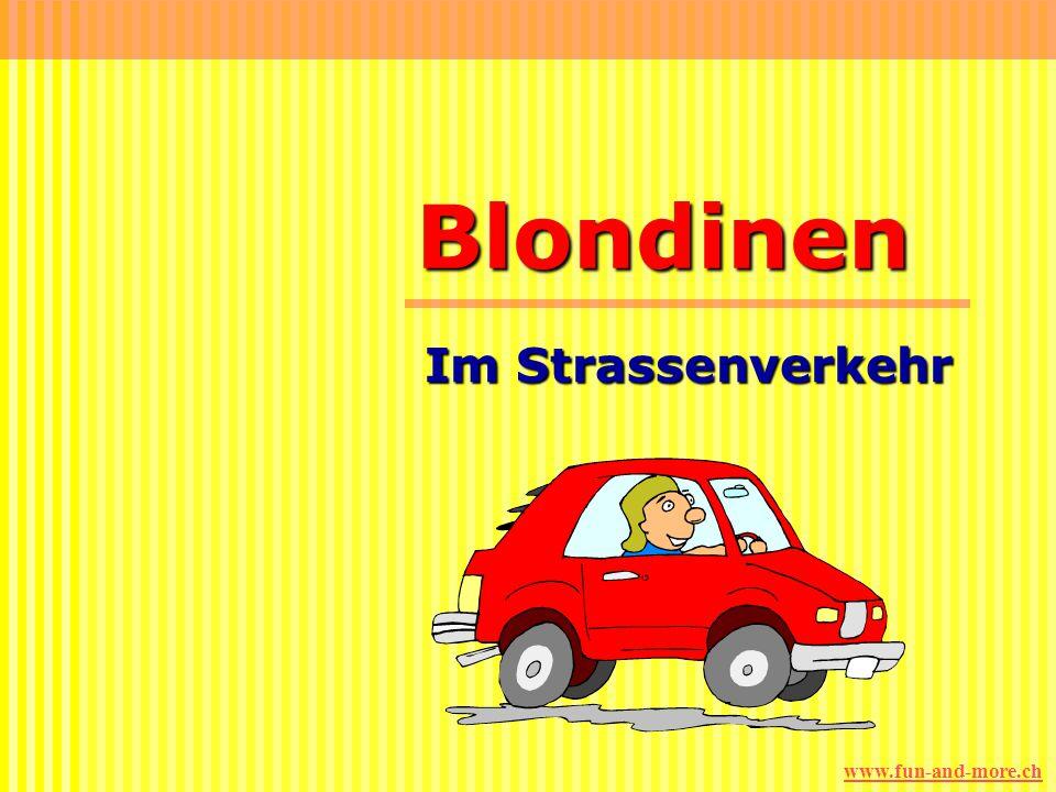 Blondinen Im Strassenverkehr